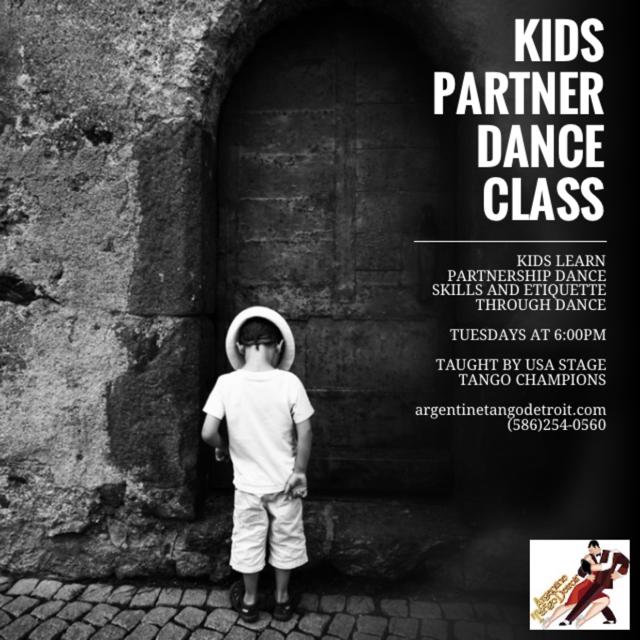#Kidsdance #argentinetangodetroit